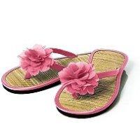 Flower Flip Flops for Bridesmaids