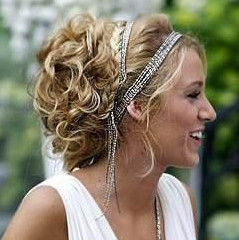 Grecian Style Beach Wedding Hairband