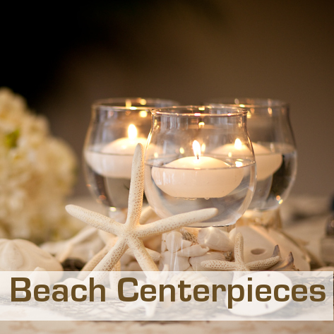 Beach wedding decorations beach wedding centerpieces junglespirit Gallery