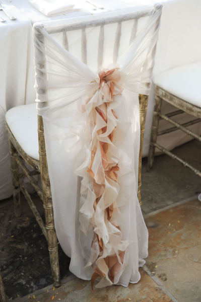 Beach Wedding Chair cover