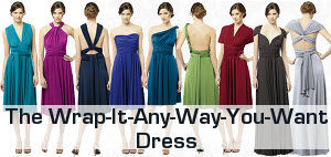 Wrap Bridesmaids Dress