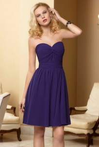 Mori Lee Purple Bridesmaid