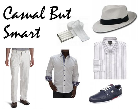 Simple But Smart Beach Wedding Attire For Men