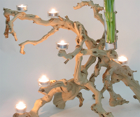Driftwood Beach Wedding Center Piece