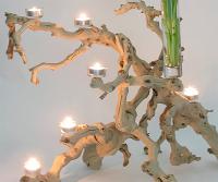 Driftwood Beach Wedding Center Piece