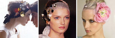 DIY Beach Wedding Headband