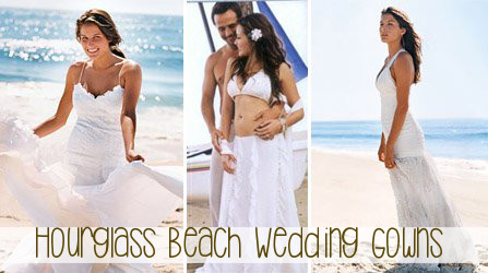 Beach Wedding Dress for Hourglass