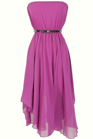 Berry colored Bridesmaids Dress