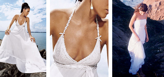 Wedding Dress Tips for Beach Brides