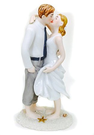 exquisite Beach Cake Topper