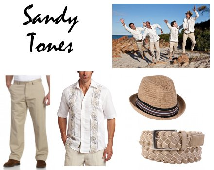 Smart-Casual Beach Wedding Attire For Men