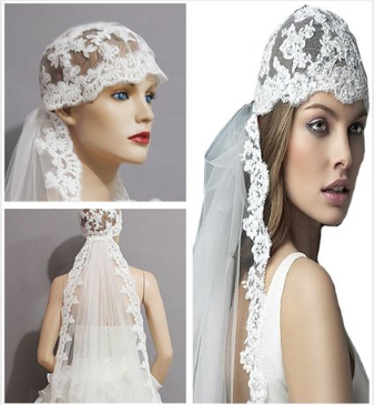 beach wedding veil hair accessory