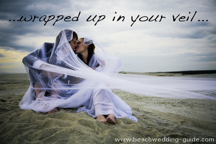 wrapped in a veil