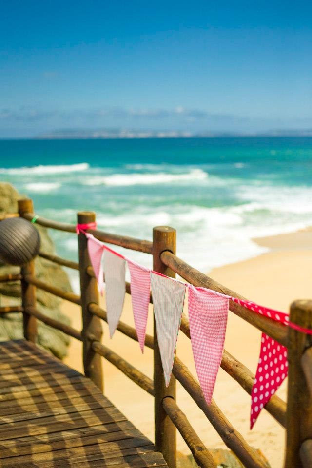 Beach Wedding Bunting