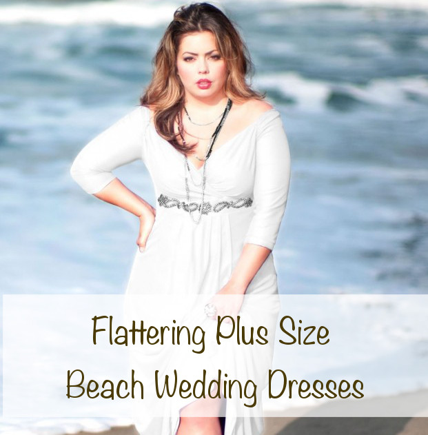 Full Figure Beach Wedding Dresses