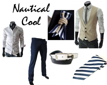 Nautical Beach Wedding Groom