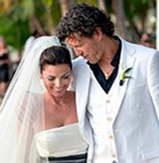 Shania Twain Beach Wedding