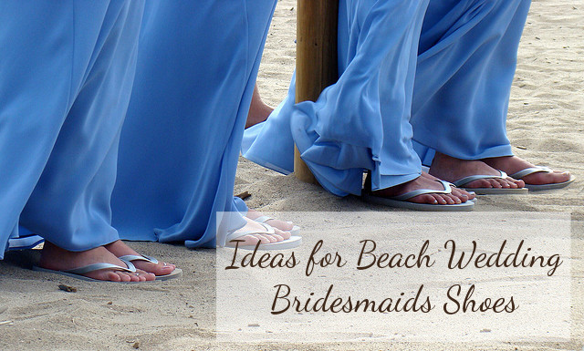 Beach Bridesmaid Shoes
