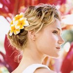 Romantic Beach Wedding Hair