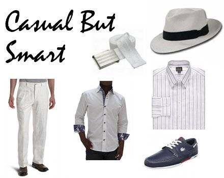 Smart Casual Beach Wedding Attire For Men