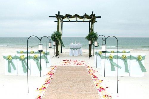 Beach Wedding Ceremony Decorations