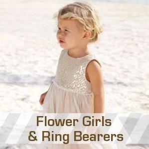 Flower Girl and Ring Bearer Attire
