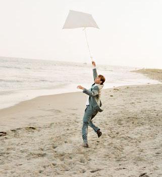 Beach Wedding Kite