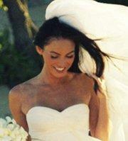 Megan Foxx Beach Wedding Hair