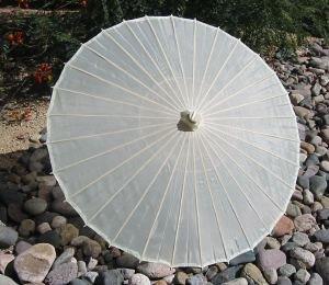 beach wedding parasol