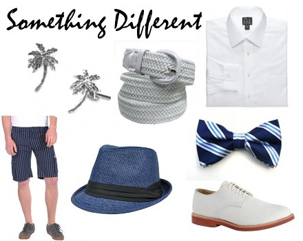 Funky Beach Wedding Attire For Men