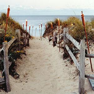 Beach Wedding Torches